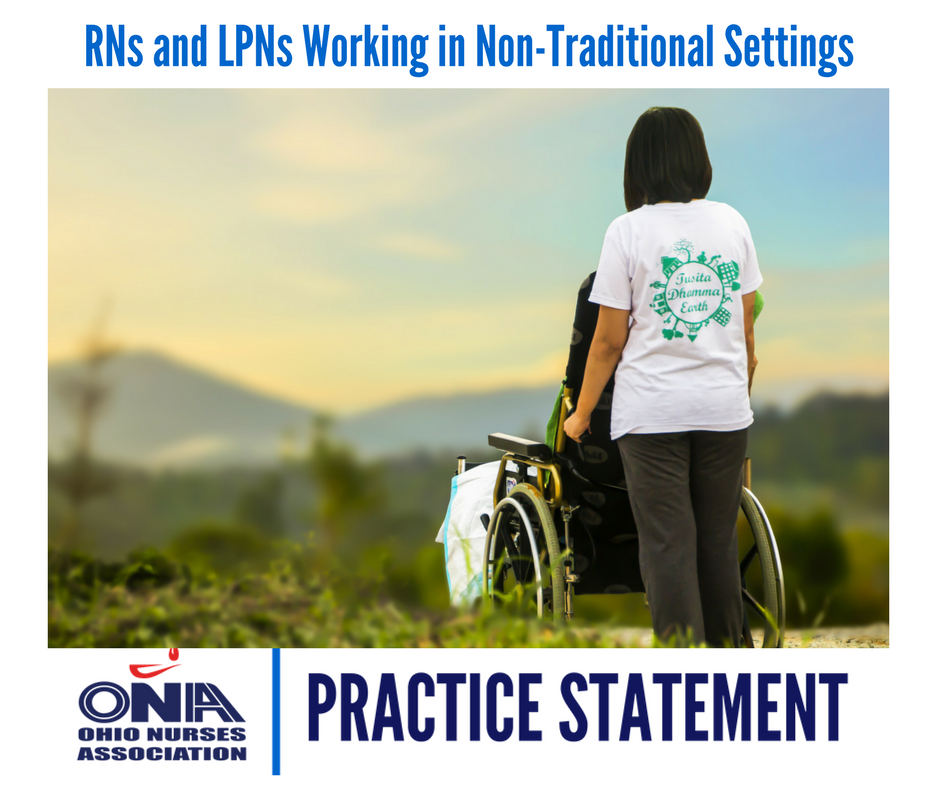 RNs and LPNs Working in Non Traditional Settings